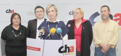 PRESENTACIÓN DE LA LISTA DE CHUNTA ARAGONESISTA A LAS CORTES DE ARAGÓN POR LA PROVINCIA DE TERUEL